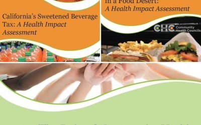 CHC Releases New Reports on Sweetened Beverage Tax, Fast Food Restaurant Policy, and Community Health Workers