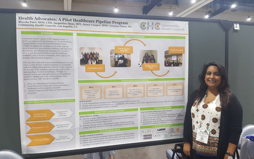 CHC Presents at APHA Annual Meeting
