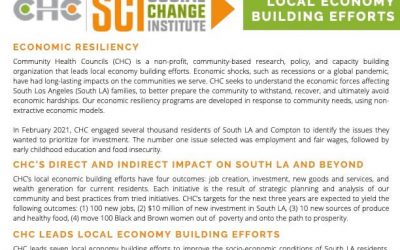 Learning 4 an Equitable Economy Factsheet